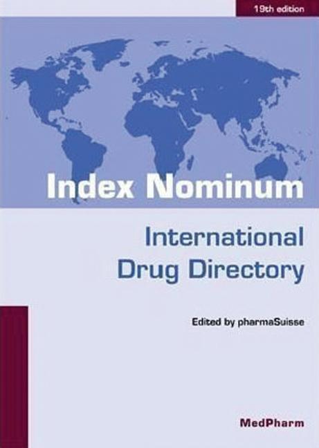 Index Nominum International Drug Directory, Nineteenth Edition book cover