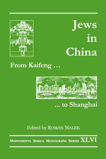 From Kaifeng to Shanghai Jews in China book cover