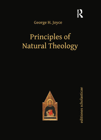 Principles of Natural Theology book cover