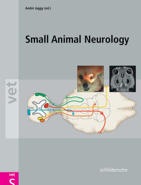 Atlas and Textbook of Small Animal Neurology An Illustrated Text book cover