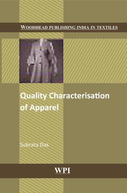 Quality Characterisation of Apparel book cover
