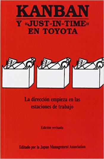 Kanban Y JUST-IN-TIME EN TOYOTA book cover