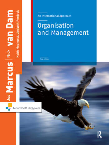 Organization and Management An International Approach book cover