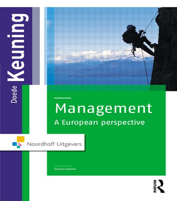 Management A European Perspective book cover