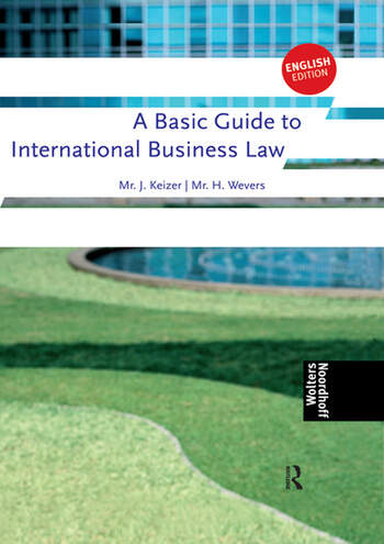 A Basic Guide to International Business Law book cover