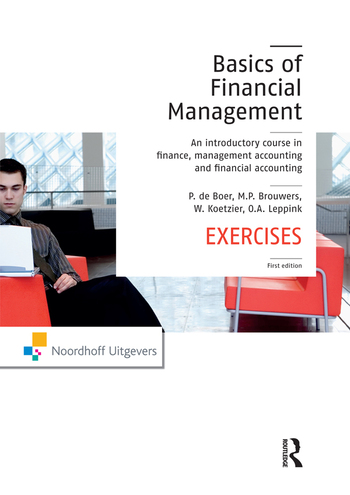 The Basics of Financial Management An introductory course in finance, management accounting and financial accounting book cover