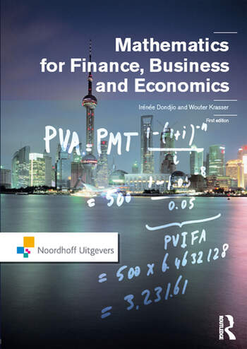 Mathematics for Finance, Business and Economics book cover