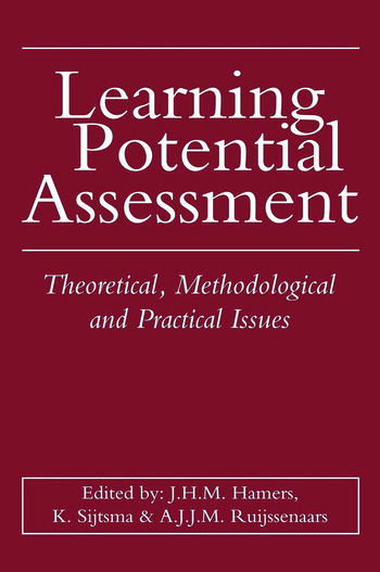 Learning Potential Assessment book cover