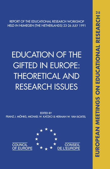 Education of the Gifted in Europe book cover