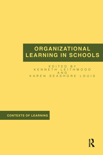Organizational Learning in Schools book cover