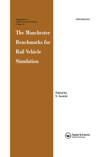 The Manchester Benchmarks for Rail Vehicle Simulation book cover