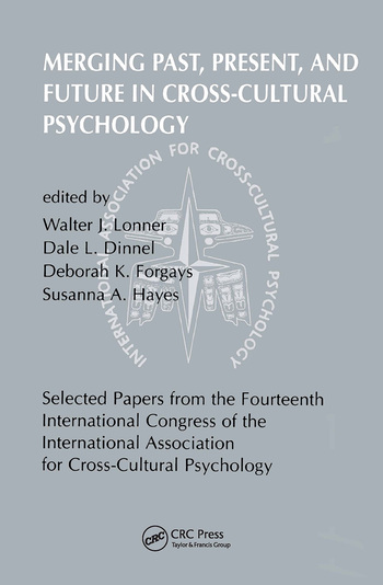 Merging Past, Present, and Future in Cross-cultural Psychology book cover