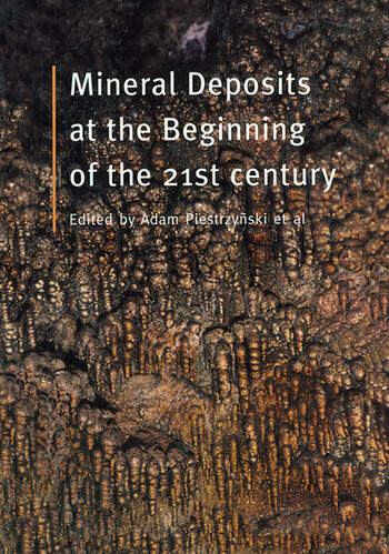 Mineral Deposits at the Beginning of the 21st Century book cover
