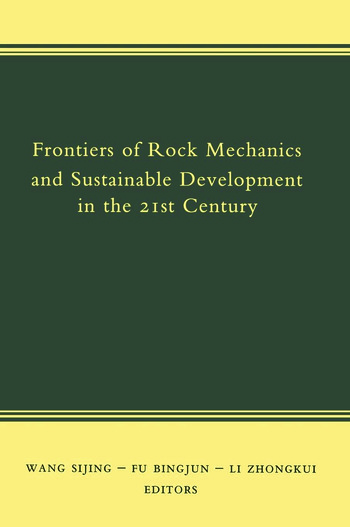 Frontiers of Rock Mechanics and Sustainable Development in the 21st Century book cover