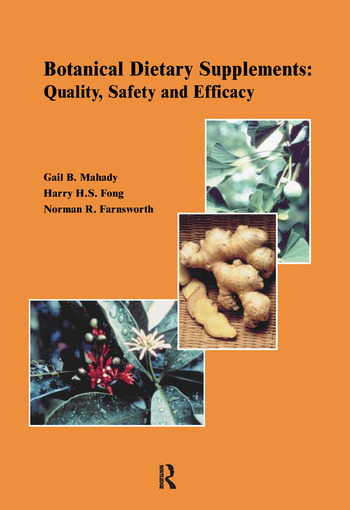 Botanical Dietary Supplements: book cover