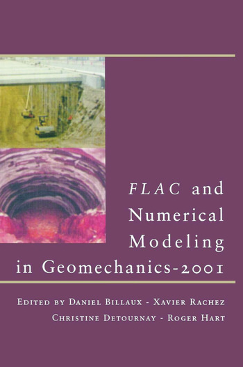 FLAC and Numerical Modeling in Geomechanics - 2001 book cover