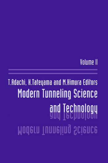 Modern Tunneling Science And T book cover
