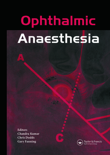 Ophthalmic Anaesthesia book cover
