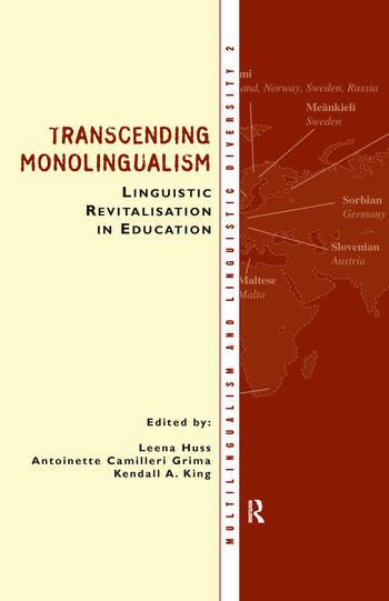 Transcending Monolingualism: Linguistic Revitalization in Education book cover