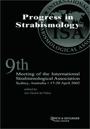 International Strabismological Association ISA 2002 book cover