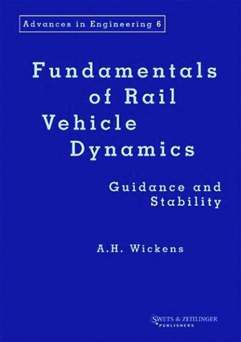 Fundamentals of Rail Vehicle Dynamics book cover