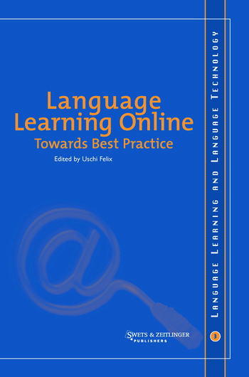Language Learning Online: Towards Best Practice book cover