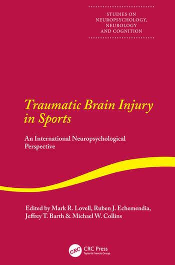 Traumatic Brain Injury in Sports book cover