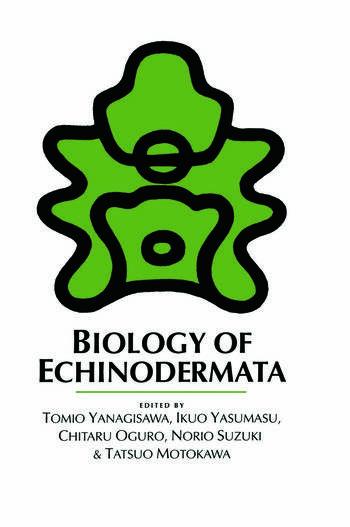 Biology of Echinodermata book cover