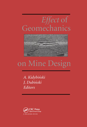 Effect of Geomechanics on Mine Design book cover