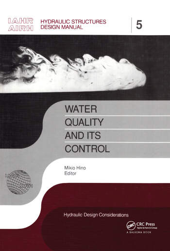Water Quality and its Control IAHR Hydraulic Structures Design Manuals 5 book cover