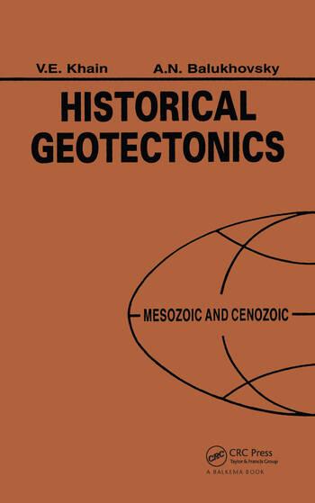Historical Geotectonics - Mesozoic and Cenozoic book cover