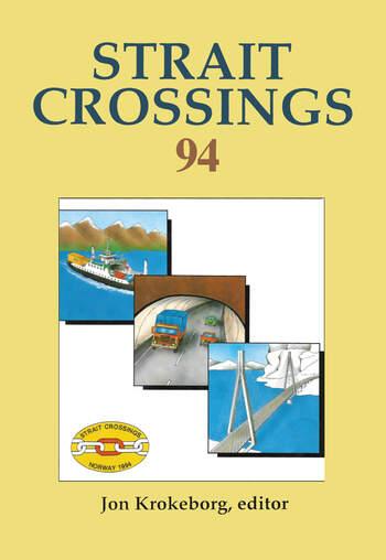 Strait Crossings 1994 book cover