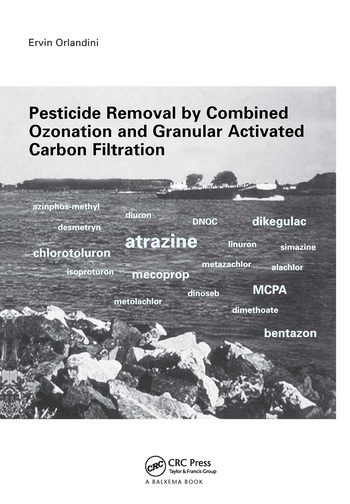 Pesticide Removal by Combined Ozonation and Granular Activated Carbon Filtration book cover