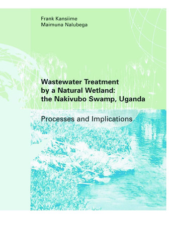 Wastewater Treatment by a Natural Wetland: the Nakivubo Swamp, Uganda book cover