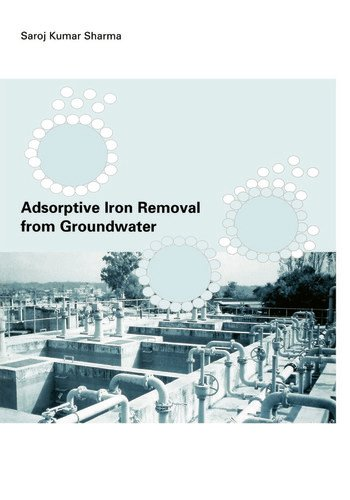 Adsorptive Iron Removal from Groundwater book cover