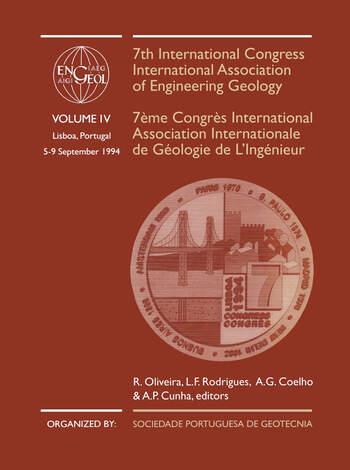7th International Congress International Association of Engineering Geology, volume 4 Proceedings / Comptes-rendus, Lisboa, Portugal, 5-9 September 1994, 6 volumes book cover