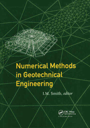 Numerical Methods in Geotechnical Engineering Proceedings of the third European conference, Manchester, 7-9 September 1994 book cover