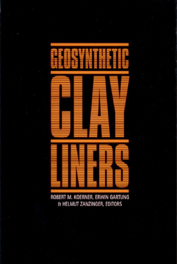Geosynthetic Clay Liners Proceedings of the International Symposium, Nuremberg, Germany, 16-17 April 2002 book cover