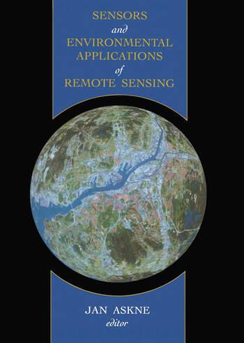 Sensors and Environmental Applications of Remote Sensing book cover