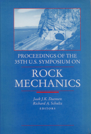 Rock Mechanics Proceedings of the 35th US Symposium on Rock Mechanics book cover