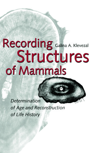 Recording Structures of Mammals book cover