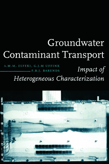 Groundwater Contaminant Transport Impact of heterogenous characterization: a new view on dispersion book cover
