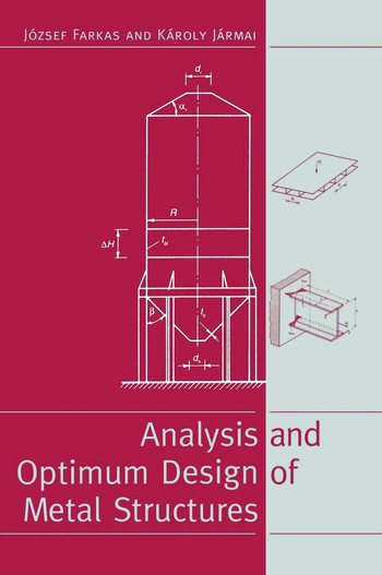 Analysis and Optimum Design of Metal Structures book cover