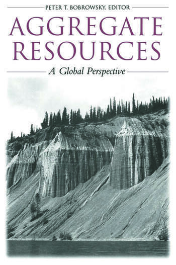 Aggregate Resources A Global Perspective book cover