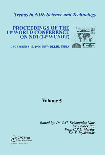 Trends in NDE Science and Technology book cover
