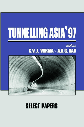 Tunnelling Asia '97 book cover