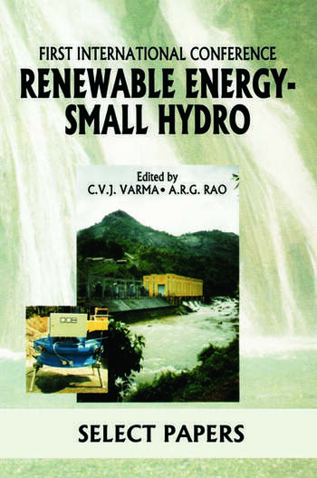 Renewable Energy - Small Hydro book cover
