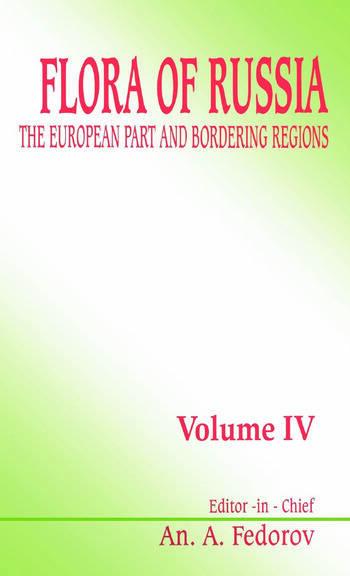Flora of Russia - Volume 4 book cover