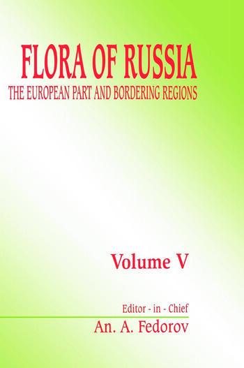 Flora of Russia, volume 5 The European Part & Bordering Regions book cover