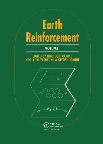 Earth Reinforcement, volume 1 Proceedings of the international symposium, Fukuoka, Kyushu, Japan, 12-14 November 1996, 2 volumes book cover
